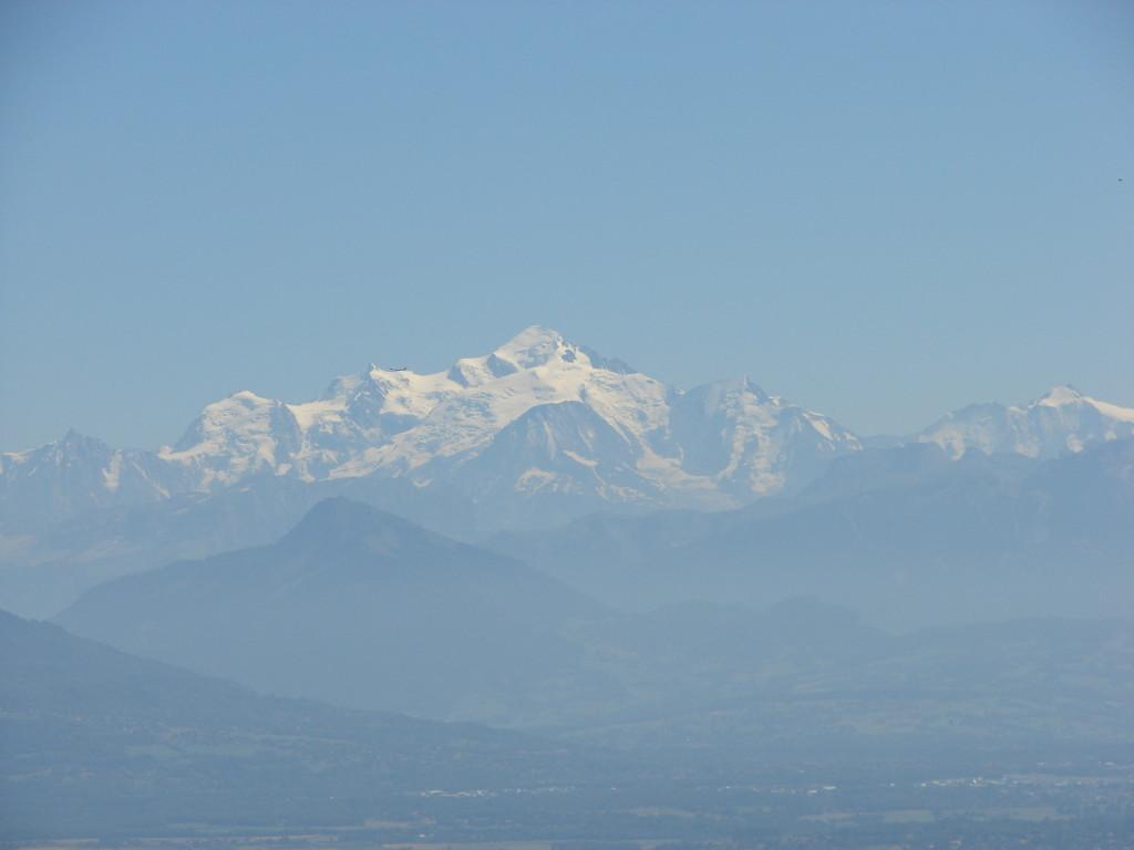 Tour for Life 10 - Mont Blanc vanaf de Col de La Croisette